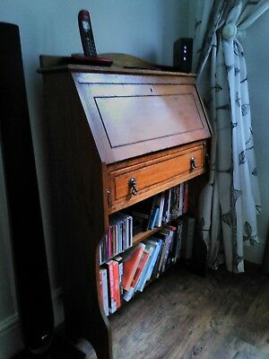 Antique Dresser/Bookcase/Writing Bureau - slimline ideal for halls and corridors