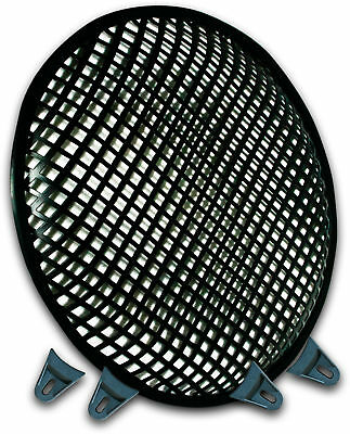 10 Inch Subwoofer Speaker Covers Waffle Mesh Grill Grille Protect Guard Clip 10""
