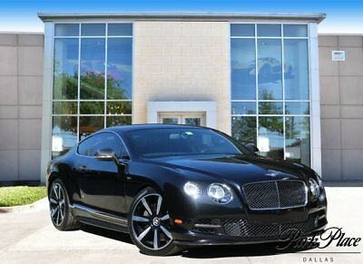 2015 Bentley Continental GT Speed  2015 Coupe Used Twin Turbo Premium Unleaded W-12 6.0 L/366 Automatic AWD Black