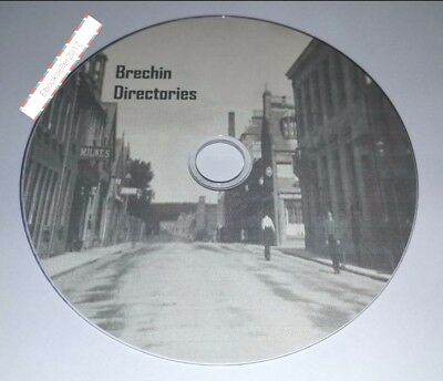 Brechin Almanacs and Directories Directory in PDF Formats for PC Laptop on disc