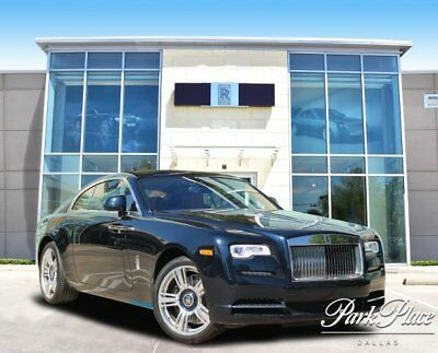 2017 Rolls-Royce Wraith Base Coupe 2-Door 2017 Coupe Used 6.6l V12  8-Speed Automatic w/OD RWD Black