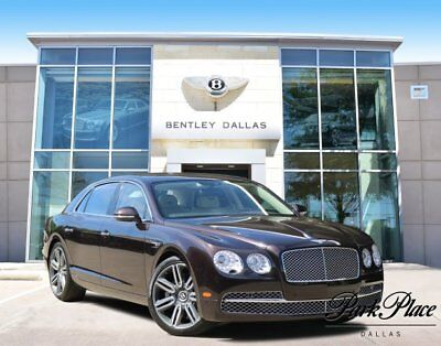2017 Bentley Flying Spur  2017 Sedan Used Twin Turbo Premium Unleaded W-12 6.0 L/366 Automatic AWD Brown