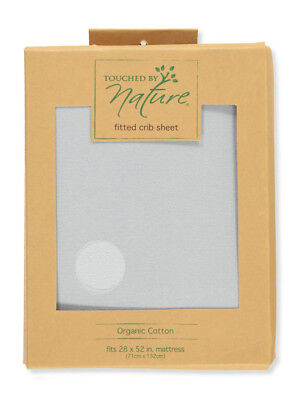 Touched by Nature Organic Cotton Fitted Crib Sheet