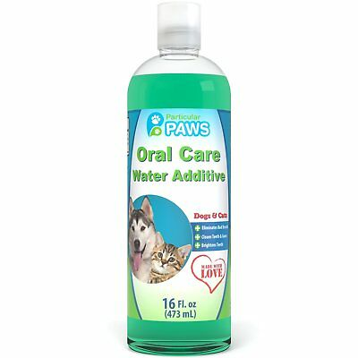 Fresh Breath Water Additive for Dogs and Cats - For Clean Teeth Healthy Gums ...