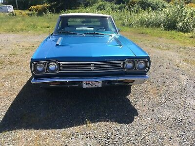 1969 Plymouth Road Runner convertible 1969 plymouth roadrunner convertible 383 4 speed