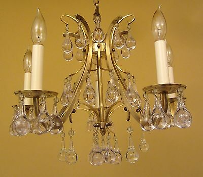 Vintage Lighting high quality Mid Century chandelier