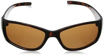 9904438752 Foster Grant Polarized Juliet Brown Tortoise Jeweled Womens Sunglasses  defect