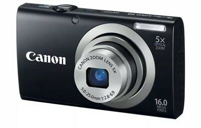 Canon PowerShot A2300 HD lightweight BLACK w/ extras Charger