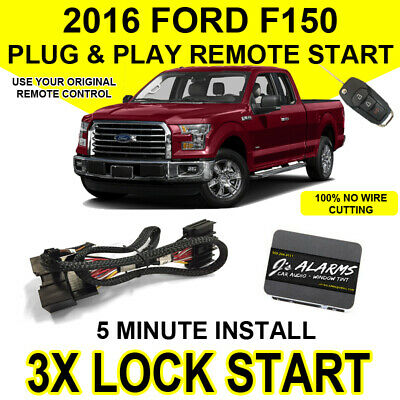 2016 Ford F-150 Remote Start Plug and Play Easy Install Truck F150 3X Lock FO2