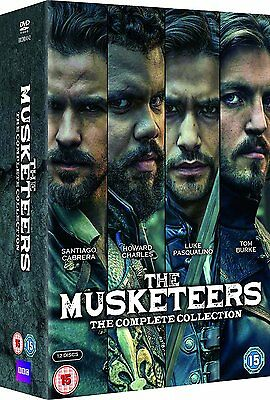 Musketeers . The Complete Series Collection . Season 1 2 3 . 12 DVD . NEU . OVP