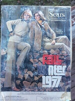 Sears Catalog Fall Winter 1977 Eastern Edition 255G Collectible