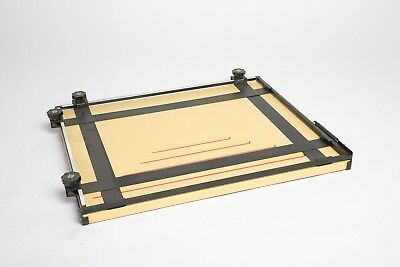 Saunders 16x20 Professional 4 Blade Heavy Duty Darkroom Easel In Good Condition