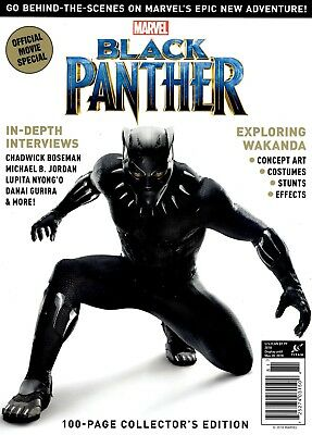 Titan Magazine 2018 Collector's Edition Movie Wakanda Marvel BLACK PANTHER