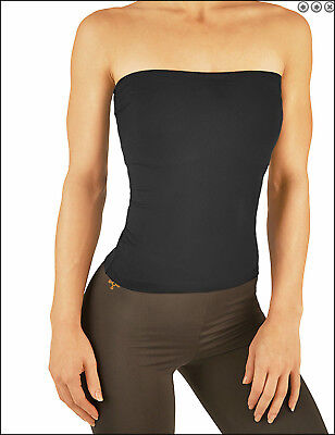 Tommie Copper Women's Recovery Compression Core Band-BLACK-MEDIUM