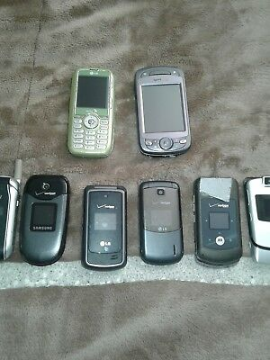 Wholesale Used Lot Cellphones~Untested/As Is~FAST SHIPPING NO RESERVE!!!