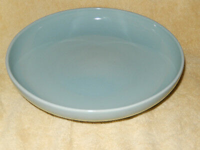 "Iroquois Casual China Sky or Baby Blue 10"" Serving Bowl by Russel Wright"