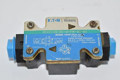 PARTS Vickers DG4V-3S-6C-M-FW-B5-60 Directional Control Valve, Housing Only