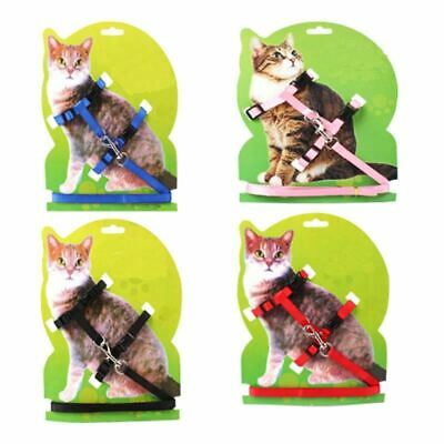 Hot Sale 7 Colors Nylon Products For Pet Cat Harness And Leash Adjustable Pet Tr