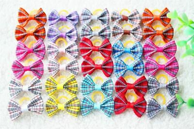 20pcs 15 Pattern Pet Dog Grooming Accessories Products Hand-made Small Dog Hair