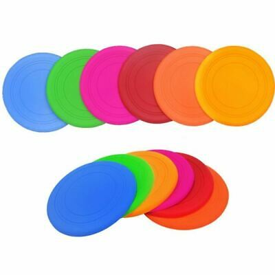 New Qualified Pet Dog Flying Disc Tooth Resistant Training Fetch Toy Play Frisbe