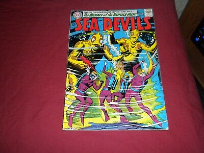 Sea Devils #20 dc 1964 silver age 6.5/7.0 comic! Lots of Sea Devils listed! WOW!