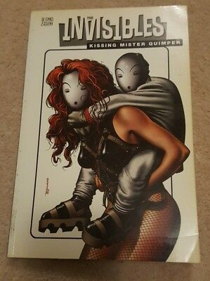 The Invisibles Kissing Mister Quimper Graphic Novel comic compilation 2000 DC