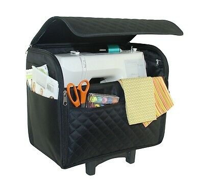 Everything Mary Rolling Sewing Machine Tote | Black