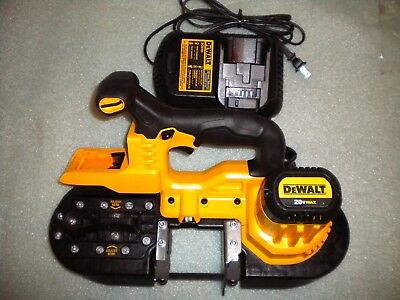 DeWalt DCS371 20V MAX 15 in. Cordless Lithium-ion Band Saw  w/charger   *MINT*