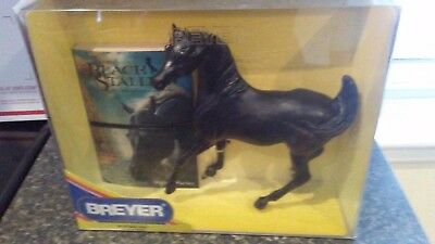 """Black Stallion #1153""  (with book)  Breyer Collectible 1/9 scale Horse"