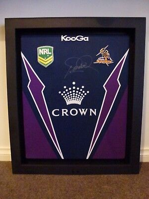 *cameron Smith-Signed & Framed Jersey*