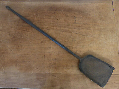 Antique 18th C Hearth Tool EARLY Forged Hand-Wrought Iron FIREPLACE Shovel  #1