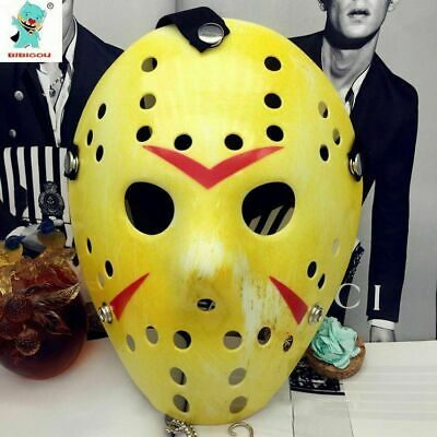 Jason Voorhees Friday the 13th Horror Movie Hockey Mask Halloween Classic Scary