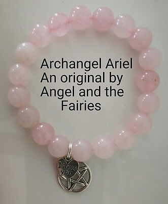 Code 412 ARCHANGEL Ariel Love from all directions of time space Infused bracelet