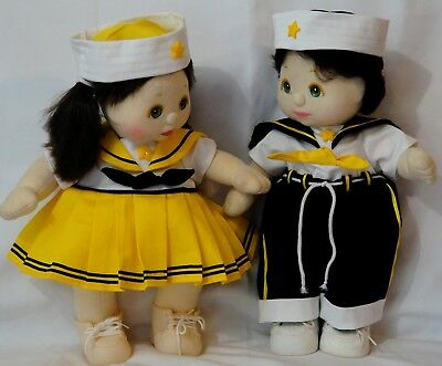 Mattel My Child Doll Girl and Boy with Matching Sailor Suits