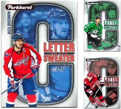 2016-17 Parkhurst Letter On The Sweater **** PICK YOUR CARD **** From The SET