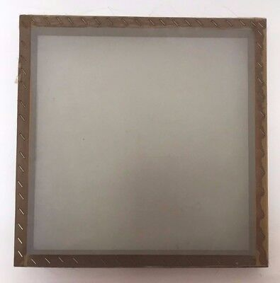 "13 x 13"" Screen Printing Wooden Frame Count With Silk Print Mesh"