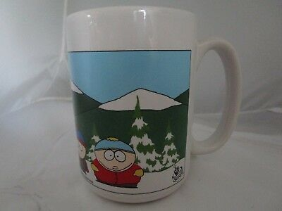 South Park The Whole Gang Coffee Cup Mug Comedy Central RARE 1997