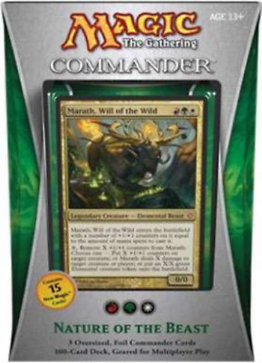 Magic the Gathering - Commander 2013 - Nature of the Beast Deck New *SEALED*