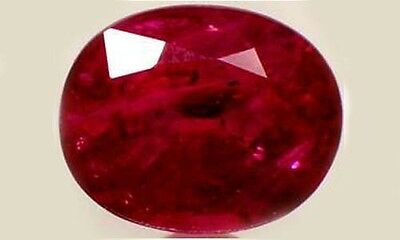 """19thC Antique 2 3/4ct Ruby Ancient Hebrew Israel Biblical Amulet """"Lord of Gems"""""""