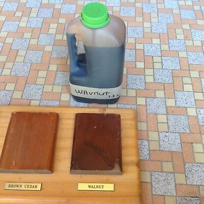Timber Stain 1.2L,  Walnut Colour--Sale