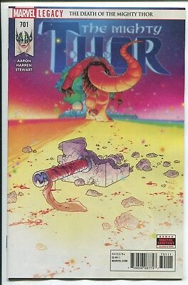 Mighty Thor #701 - Russell Dauterman Main Cover - Marvel Comics/2017