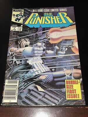 1985 THE PUNISHER #1 NEWSSTAND first in a four issue limited series FN+ Fine+