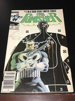 1985 THE PUNISHER #3 NEWSSTAND in a four issue limited series VF- Very Fine-