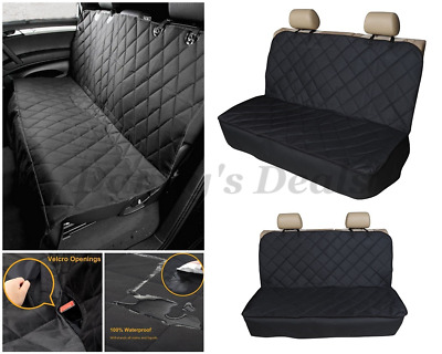 Black Rear Waterproof Car Seat Cover Protector For Toyota Yaris 5DR 2006-2011