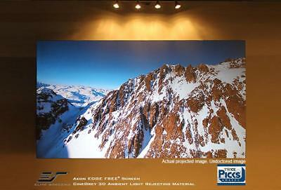"""NEW Elite Screens AR100H2 Aeon Series 100"""" 16:9 Fixed Frame Projection Screen"""