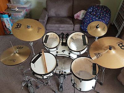 Ludwig Access CS 5 Piece Drum Shell Kit with cymbals