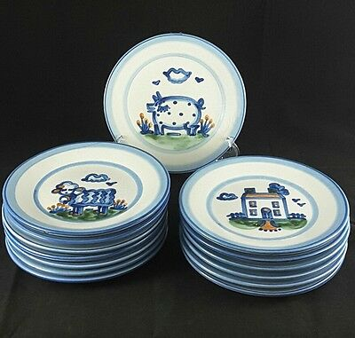 """Hadley Country Scene One (1) 7 5/8"""" Salad Plate Fourteen Avail.various Scenes"""
