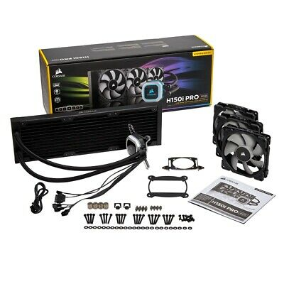 Corsair Hydro Series H150i Pro RGB 360mm Quiet Liquid Water CPU Cooler