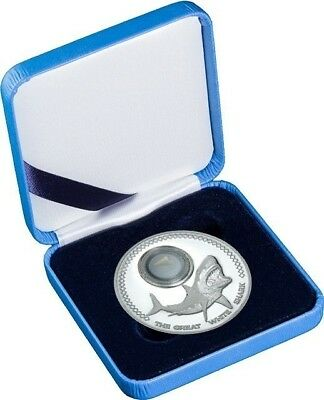 2014 $5 Tokelau - Great White Shark Tooth - 1 oz silver proof-like coin