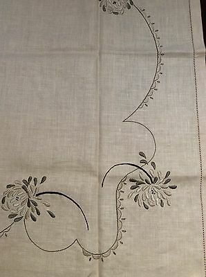 Vintage Linen Tablecloth - Myart